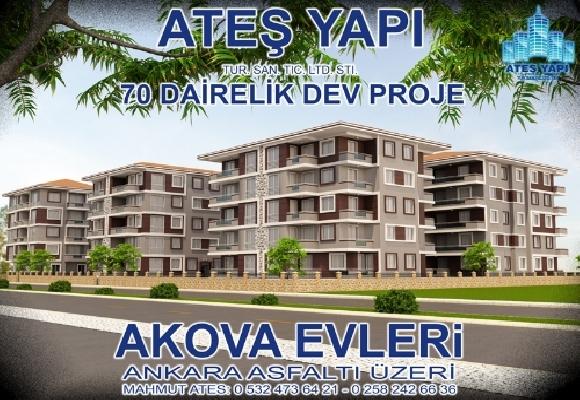 Akova Evleri